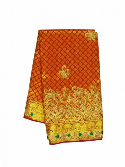 Traditional Stone Work Silk Saree - NFBB4183031