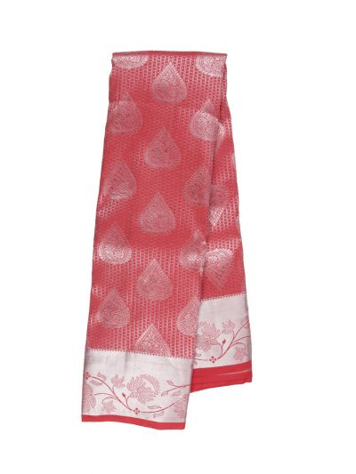Traditional Red Gift Art Silk Saree - OFC9588307