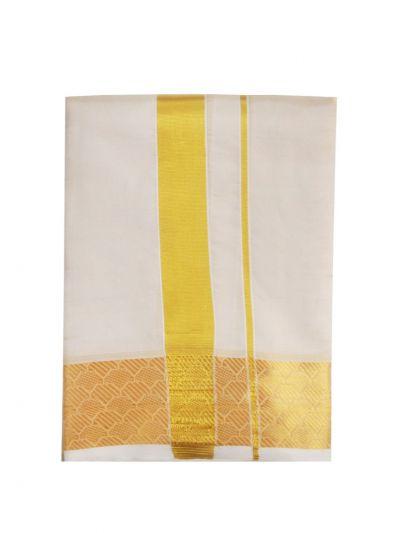 Vivaha Fancy Border Silk Dhoti - OED6904114