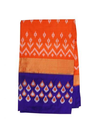 Pochampally Handloom Pure Ikat Silk Saree - NED3253899