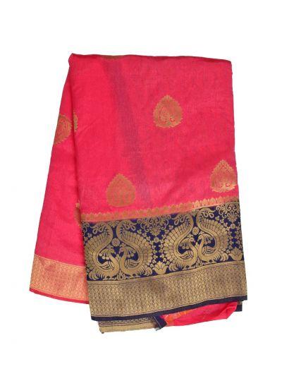 Fancy Semi Jute Saree - MJD8215130