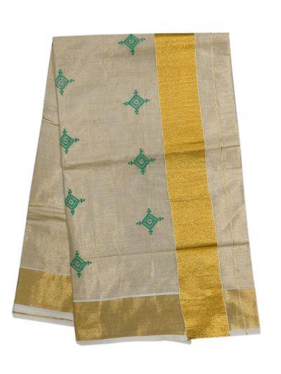 Women's Kerala Traditional Saree - EKM - NLE6552488