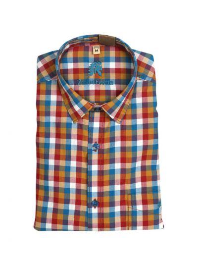 Zulus Festin Men's Readymade Formal Cotton Shirt - NKC3487026