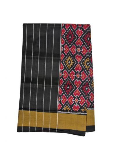 Pochampally Handloom Pure Ikat Silk Saree - NKA2402045