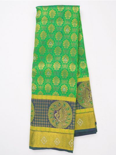 MJA6852268-Vivaha Wedding Stonework Silk Saree