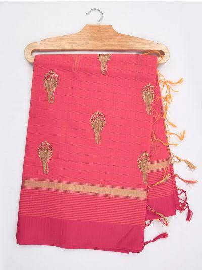 MJD8179738-Fancy Chanderi Cotton Saree