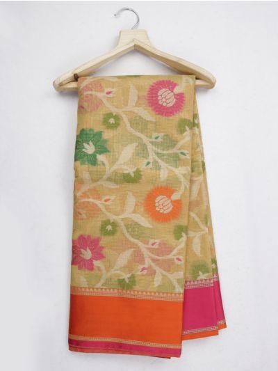 Kathana Fancy Manipuri Weaving Saree - MKB9153448