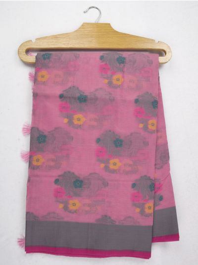 Kathana Fancy Manipuri Weaving Saree - MJA6709584