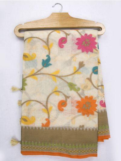 Kathana Fancy Manipuri Weaving Saree - MJA6709623
