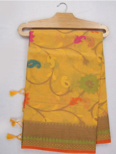 Kathana Fancy Manipuri Weaving Saree - MJA6709628