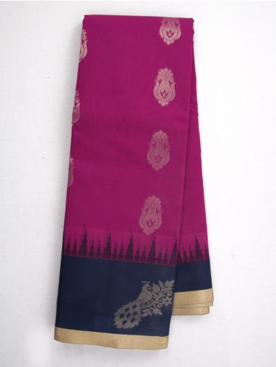 Chamelli Fancy Silk Cotton Saree - MJC7738916