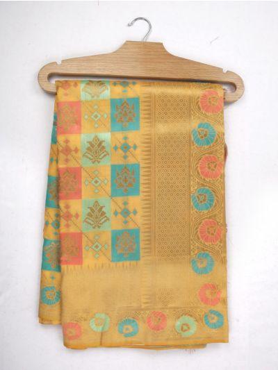 MJD8350317-Kathana Fancy Semi Banarasi Saree