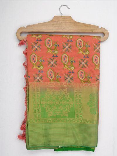 Kathana Art Dupion Raw Silk Weaving Saree - MGB9149013