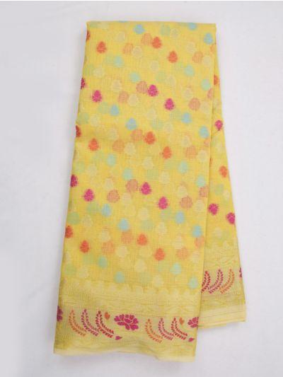 Kathana Fancy Manipuri Weaving Saree - MKB9153469