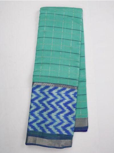 Chamelli Exclusive Mangalagiri Silk Cotton Saree - MKC9663390