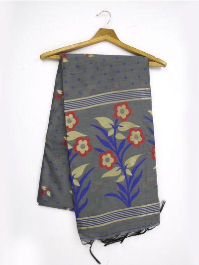 MJC7914964-Yuvathi Jute Cotton Saree