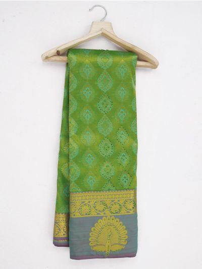 Bairavi Traditional Gift Art Silk Stone Saree - MKC9629755