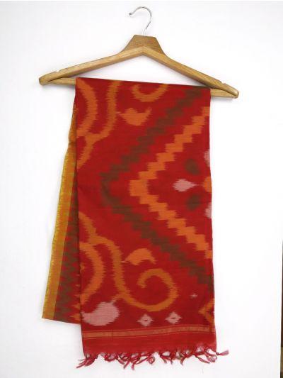 MKB9272465-Chamelli Pochampally Design Silk Cotton Saree