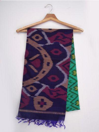 MKB9272469-Chamelli Pochampally Design Silk Cotton Saree