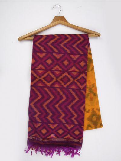 MKB9272472-Chamelli Pochampally Design Silk Cotton Saree