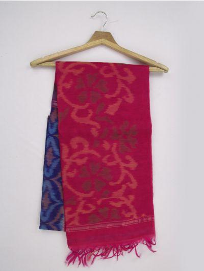 MKB9272476-Chamelli Pochampally Design Silk Cotton Saree