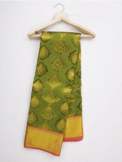 Bairavi Traditional Gift Art Silk Stone Work Saree - MKD0219111