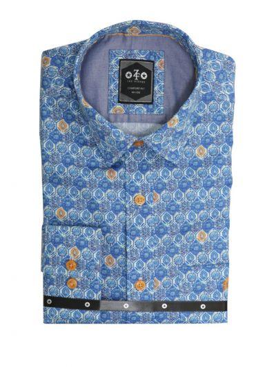 ZF Men's Readymade Casual Cotton Shirt - MKC9747577