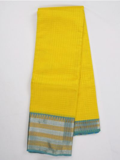 Chamelli Exclusive Mangalagiri Silk Cotton Saree - MJA6623093