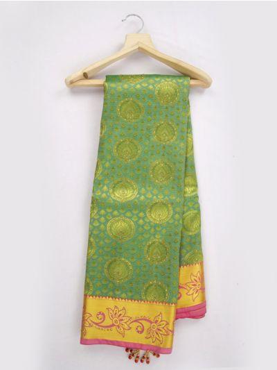 Bairavi Traditional Gift Art Silk Stone Work Saree - MKD0219070