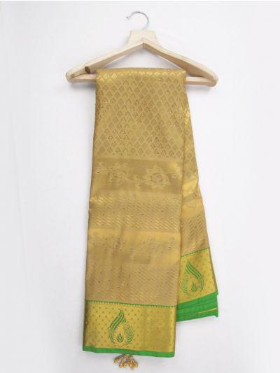 Bairavi Traditional Gift Art Silk Stone Work Saree - MKD0219061