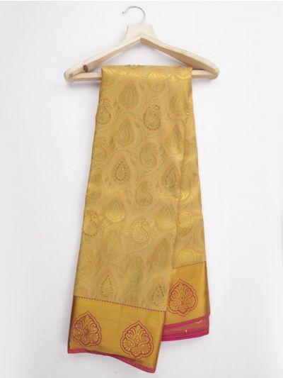 MKD0219123-Bairavi GIft Stonework Art Silk Saree