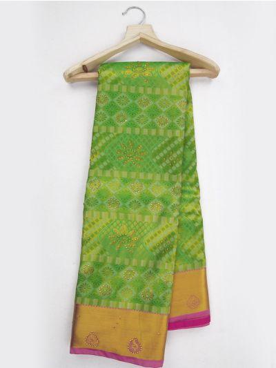 MKD0219102-Bairavi Gift Stonework Art Silk Saree