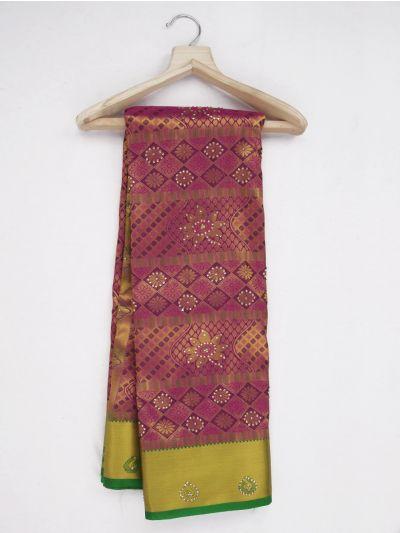 MKD0219104-Bairavi Gift Stonework Art Silk Saree