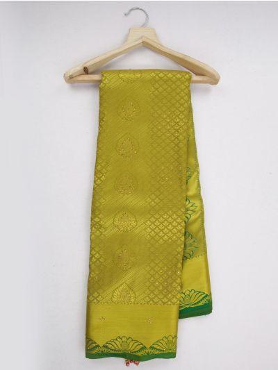 MKD0219075-Bairavi Gift Stonework Art Silk Saree