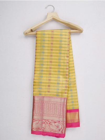 MKC9541037-Vipanji Traditional Silk Saree
