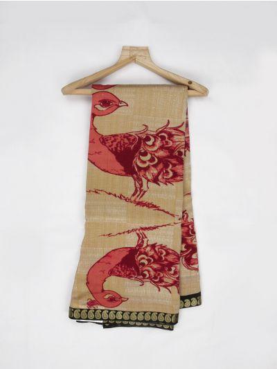MDC2242252 - Pure Tussar Silk Saree