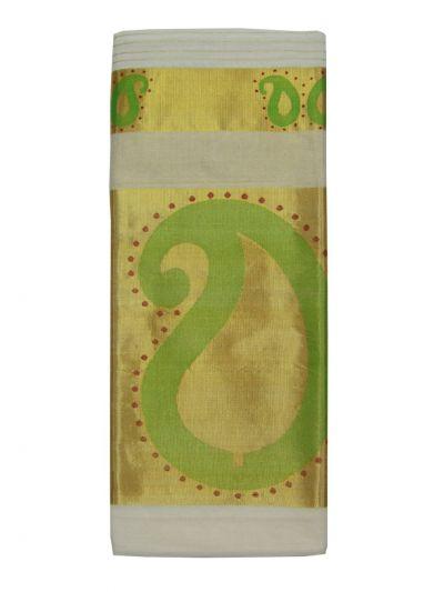 Kerala Traditional Silk Saree - EKM - NJD1428116