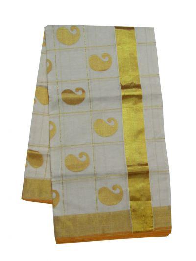 Kerala Traditional Silk Saree - EKM - NJD1428126