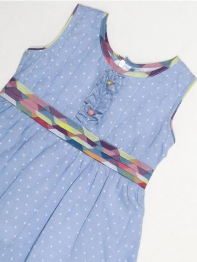 MKC9851344 - Girls Cotton Frock