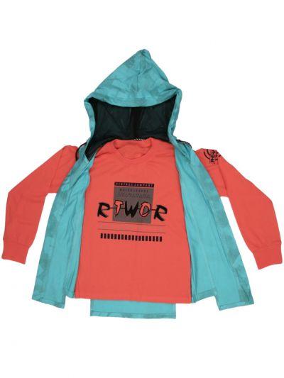 MLC1401933 -  Boys Hooded T-Shirt