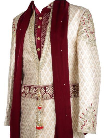 BRODMAN Exclusive Heavy Hand Work Designer Suit - MGA8115209