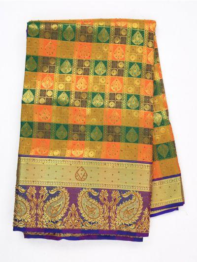 MIA2929865-Vivaha Wedding Silk Stonework Saree with Stonework Blouse