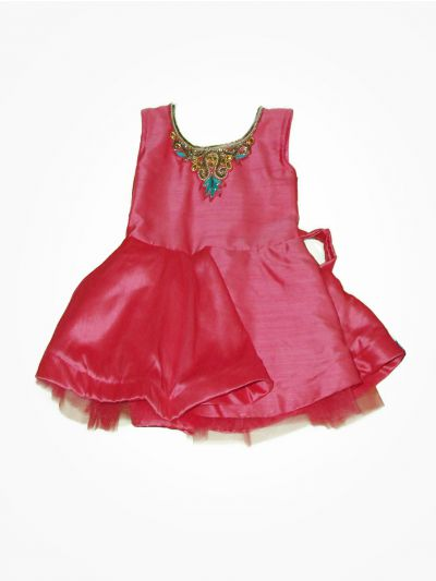 MGC0225240 - Girls Fancy Synthetic Frock