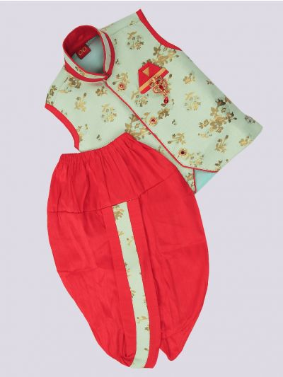 Infant Boys Readymade Dhoti Set - MJB7237395