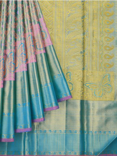 MJA6634850-Vivaha Wedding Pure Silk Saree