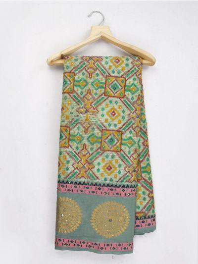 Kathana Fancy Stone Work Manipuri Weaving Saree - MJC7855326