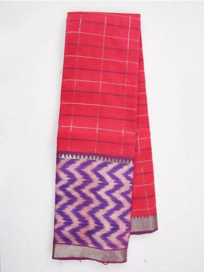 MKC9663394-Chamelli Mangalagiri Silk Cotton Saree