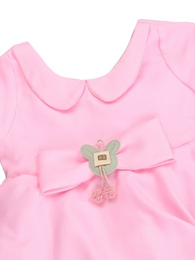 Infant Girls Printed Design Synthetic Fancy Frock - MJA7045771 Size-12(0 to 6 months)