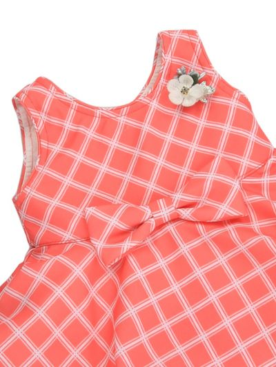 Infant Girls Printed Design Synthetic Fancy Frock - MJA7045789 Size-12(0 to 6 months)