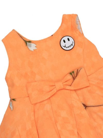 Infant Girls Printed Design Synthetic Fancy Frock - MGC0250397 Size-12(0 to 6 months)